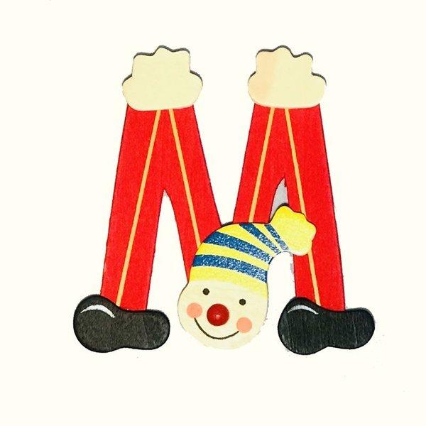 Mamamemo Clown letter M (6 ST)