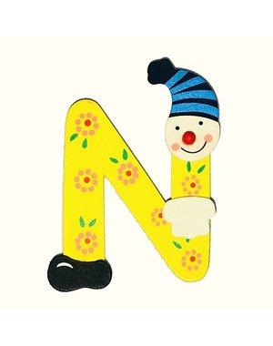 Mamamemo Clown letter N (6 ST)