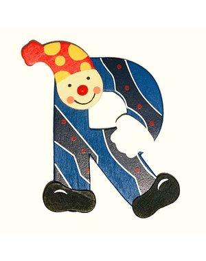 Mamamemo Clown letter R (6 ST)