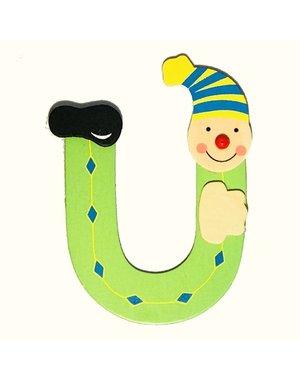 Mamamemo Clown letter U (6 ST)