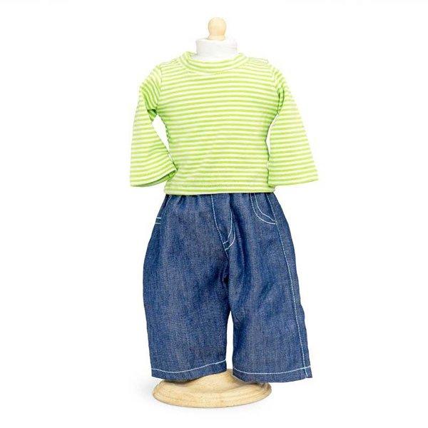 Jeans en Shirt 33-37 cm