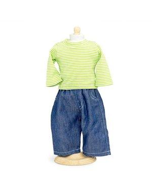 Jeans en Shirt 42-46 cm