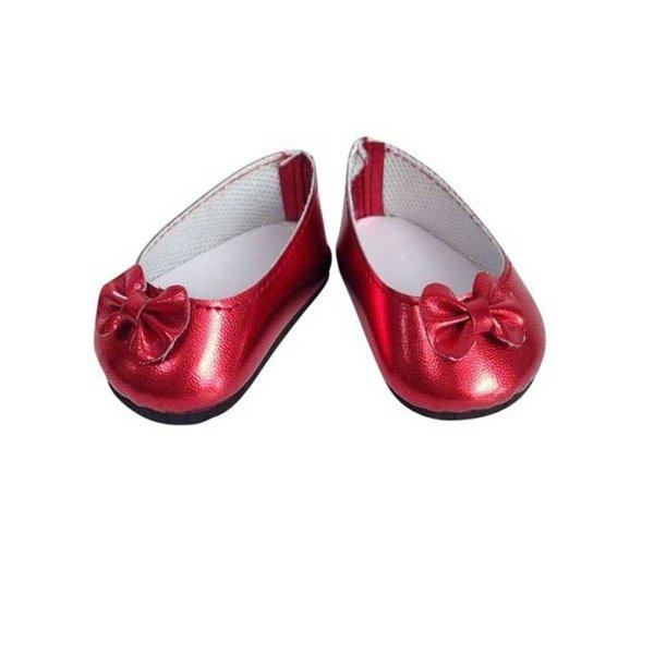 Ballerina Schoentjes Rood 35-45 cm