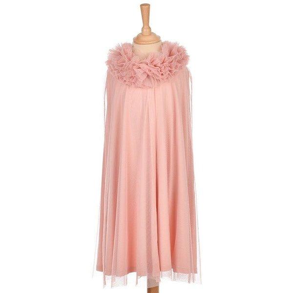 Tule cape roze 6-8 jaar