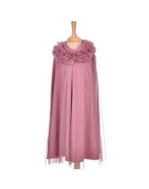 Tule cape paars/roze 6-8 jaar