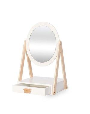Tafelspiegel met Lade