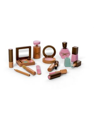 Houten Make-up setje (half November weer leverbaar)