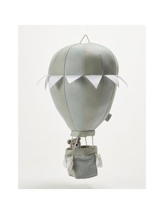 Stoffen luchtballon creme/grijs