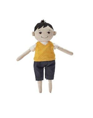 Stoffen pop Pierre 37cm