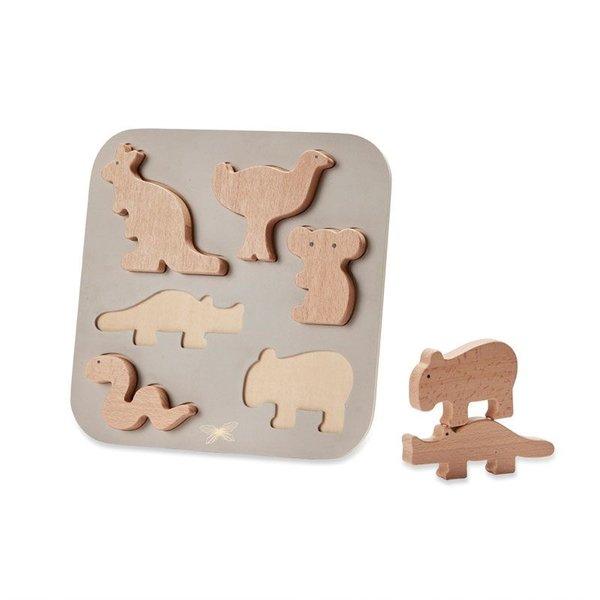 Puzzel / Australische dieren