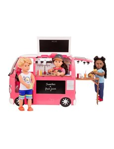 Grill to go Foodtruck-Pink