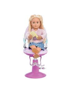Sitting Pretty Salon Chair – Lila