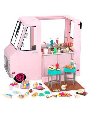 Sweet Stop Ice Cream Truck – Roze
