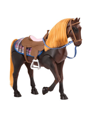 Thoroughbred Posable Horse