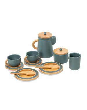 Koffie Set Smaragdgroen