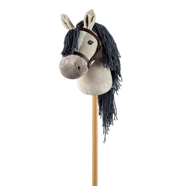 Stokpaard grijs