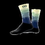 WOOBI-cycling MOUNTAINS socks