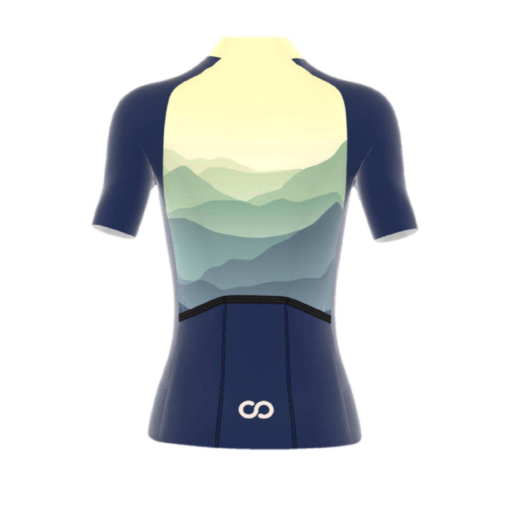WOOBI-cycling MOUNTAINS jersey korte mouw