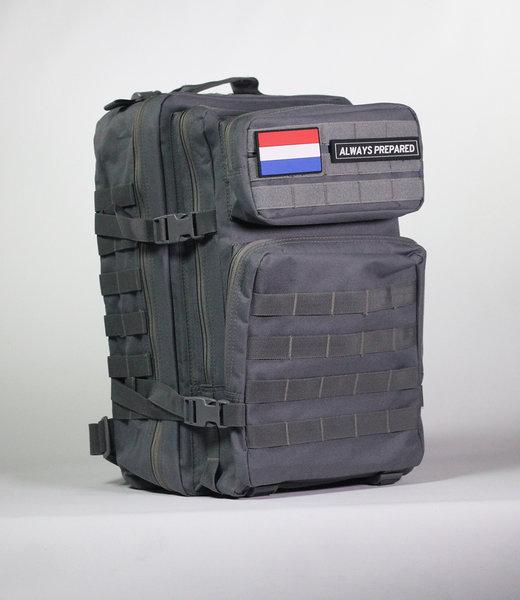 Always Prepared Grey Backpack 45L