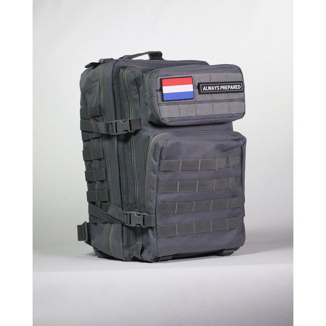 Always Prepared Always Prepared Grey Backpack 45L