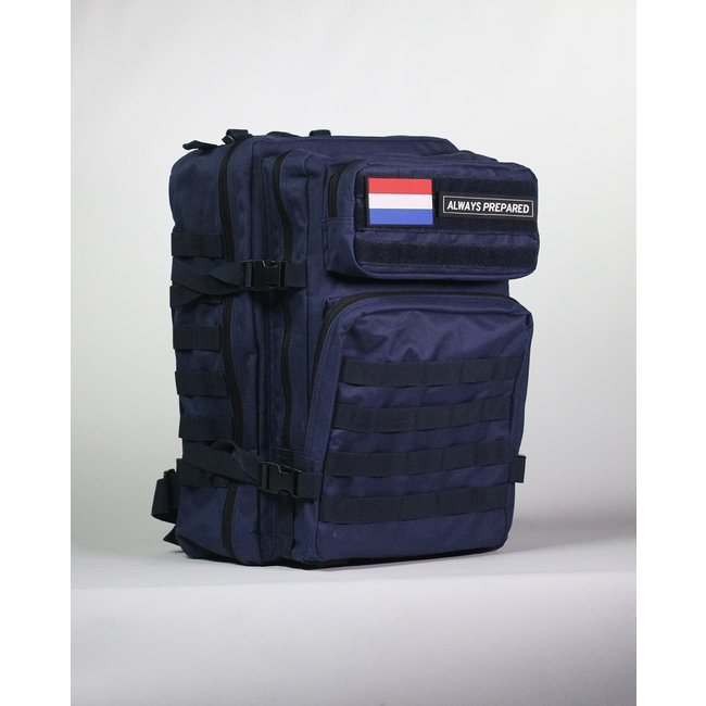 Always Prepared Blue Backpack 45L