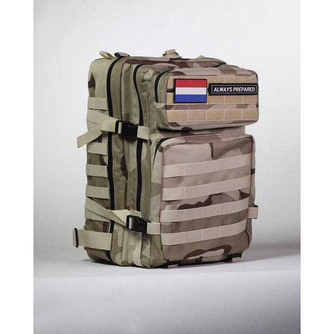 Always Prepared Always Prepared Desert Camo Backpack 45L