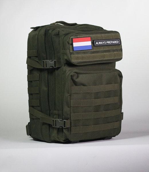 Always Prepared Green Backpack 45L