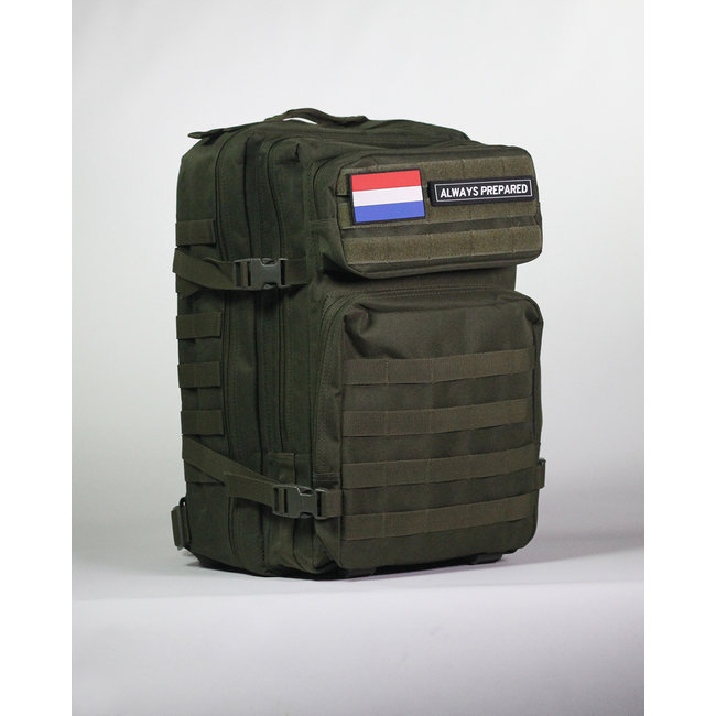 Always Prepared Always Prepared Green Backpack 45L