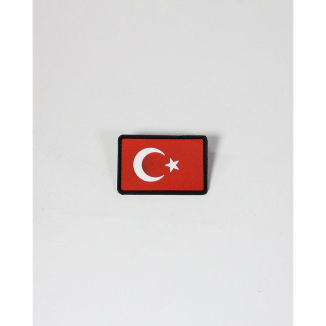 Always Prepared Turkse Vlag Patch PVC