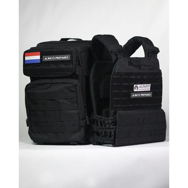 Always Prepared Combi-Deal Backpack & Gewichtsvest