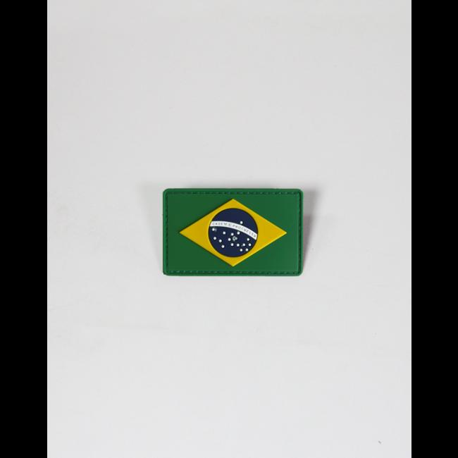 Always Prepared Braziliaanse Vlag Patch PVC