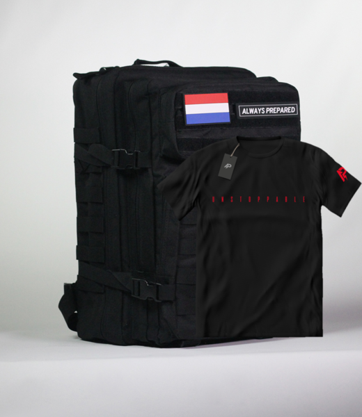 Always Prepared Combi-Deal Backpack & T-Shirt