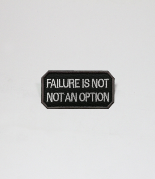 Always Prepared Failure is not an option