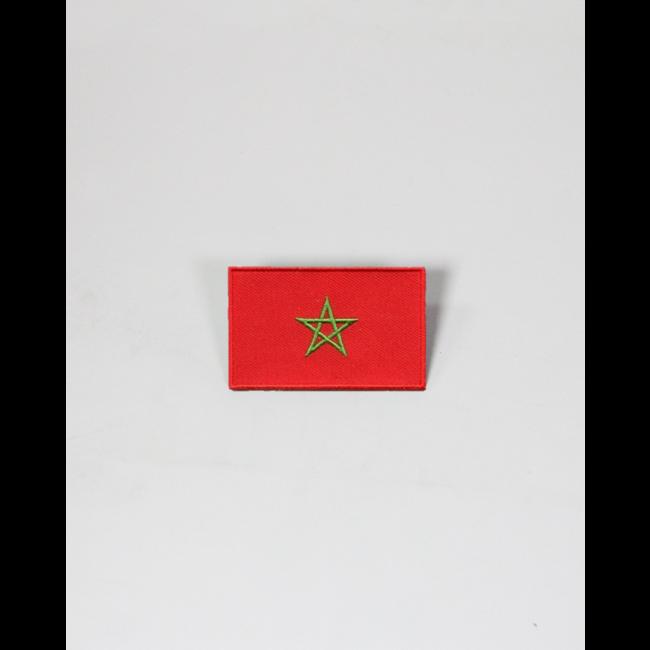 Always Prepared Marokkaanse vlag patch