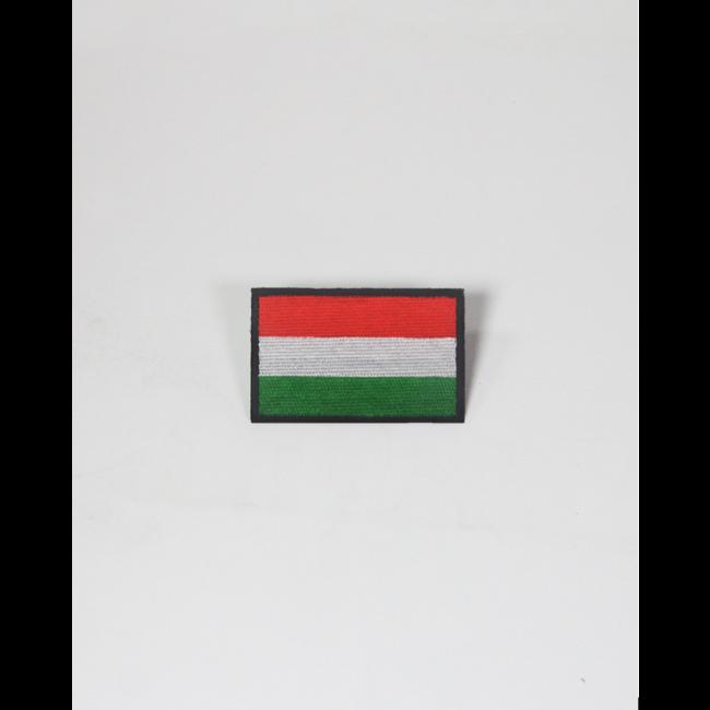 Always Prepared Hongaarse Vlag Patch