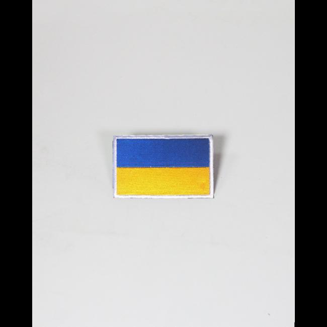 Always Prepared Oekraïnse Vlag Patch