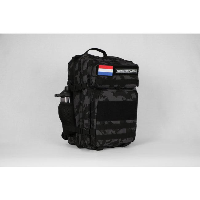 Always Prepared 2.0 Grey Camo Backpack 45L