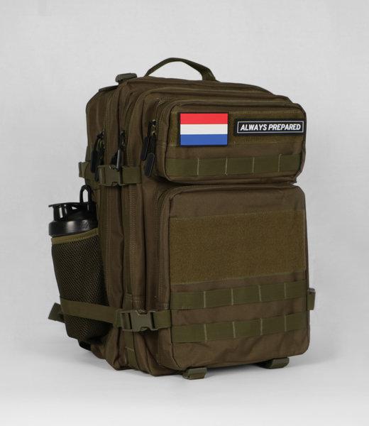 Always Prepared 2.0 Green Backpack 45L