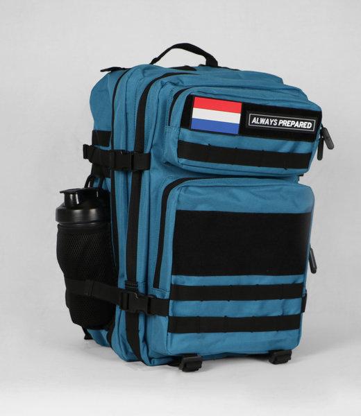 Always Prepared 2.0 Tropical Blue Backpack 45L