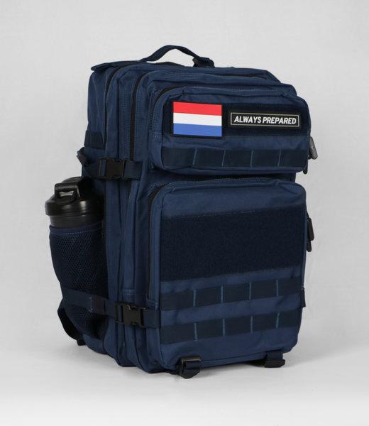 Always Prepared 2.0 Blue Backpack 45L