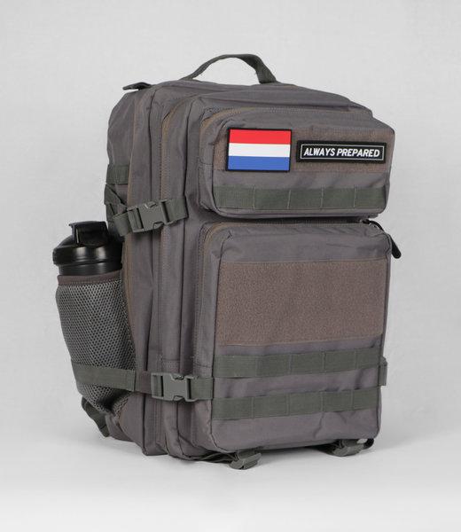 Always Prepared 2.0 Grey Backpack 45L