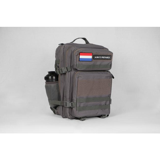 Always Prepared Always Prepared 2.0 Grey Backpack 45L