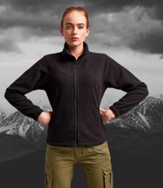 Always Prepared Women's full-zip fleece