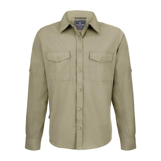 Craghoppers Long Sleeved Shirt Pebble