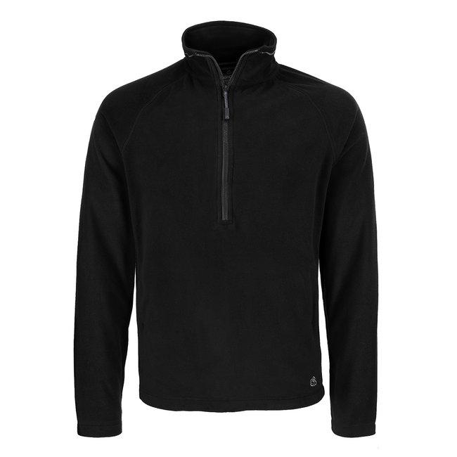 Craghoppers Fleece Half Zip Black