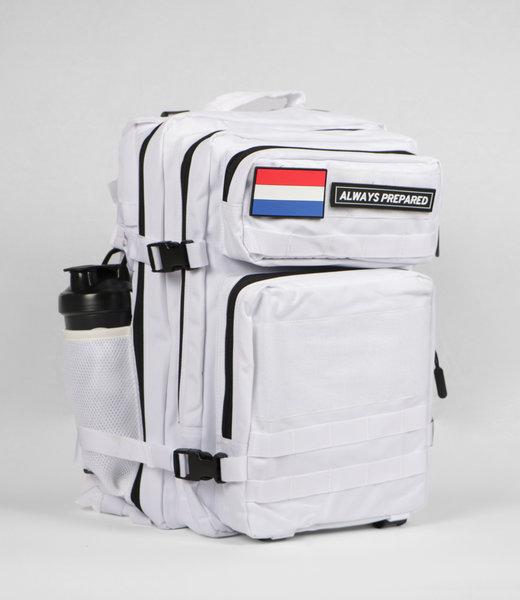 Always Prepared 2.0 White Backpack 45L
