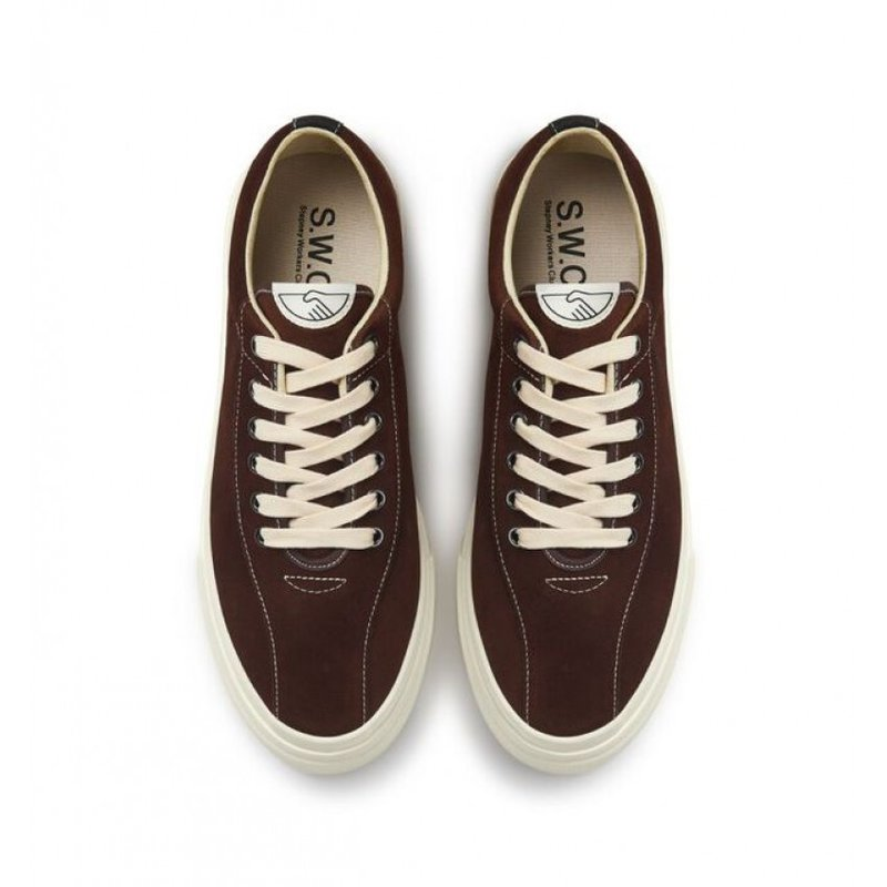 Stepney Workers Club Dellow M Suede Chocolat