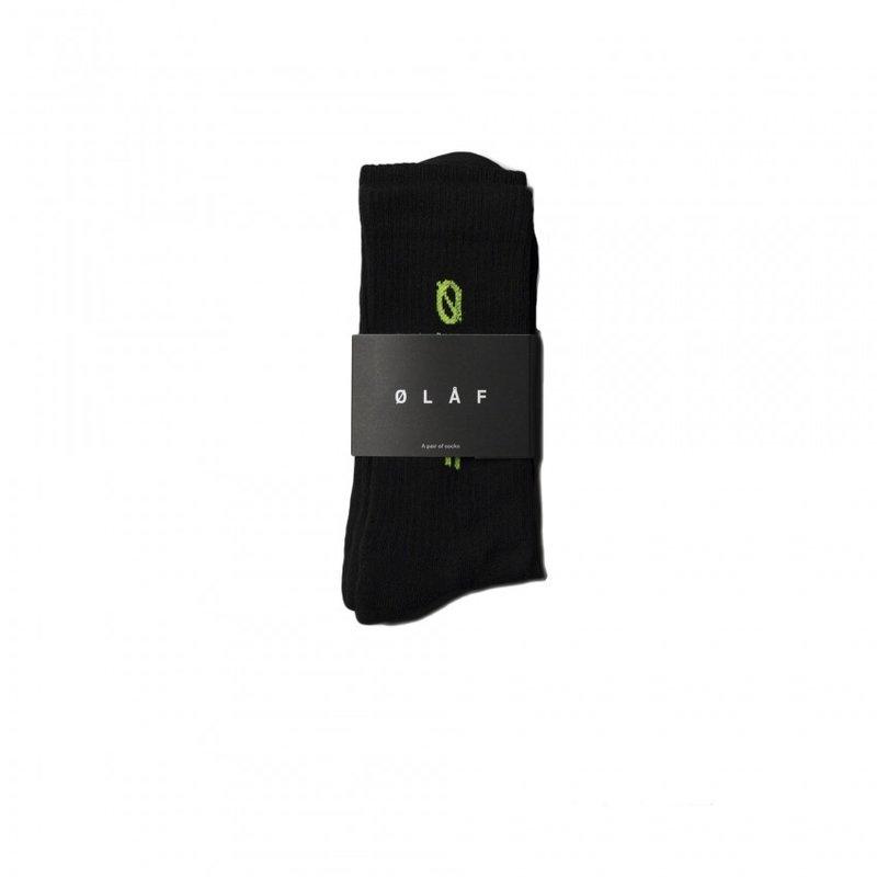 OLAF HUSSEIN Italic Socks