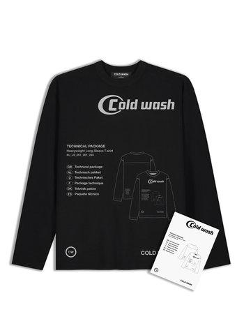 Cold Wash Tech Pack L/S T-shirt Black