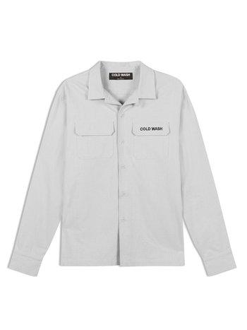 Cold Wash Lab Shirt Grey